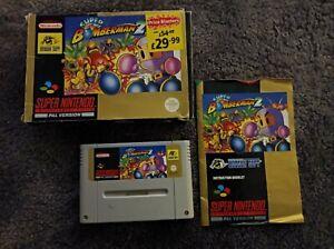 Bomberman 2 SNES Super Nintendo Complete