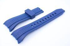 Bracciale orologi Kunsstoff 26 mm blu per SEIKO LORD SNDE 67 SNAE 16p spc101p ecc.
