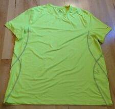 Tommy Copper Cool Copper Mens Bright Yellow Short Sleeve Shirt Size 2Xl