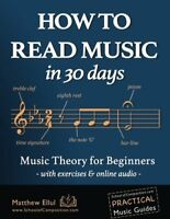 How to Read Music in 30 Days Music Theory for Beginners - with exercises  onli