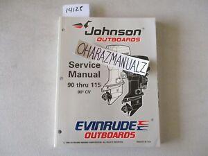 1997 JOHNSON 90 CV 90 thru 115 Motor Engine Service Manual