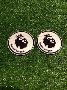 Premier League Football Sleeve Badges Patch Replica Size Sporting Id Adult Pair
