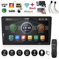 9 inch Android 9.0 Car MP5 Player Stereo 1Din Touch Screen FM/GPS Rear Camera pw
