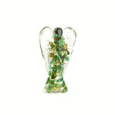 Orgonit Engel grüner Jade 470