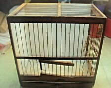 Antique Wooden Canary Bird Cage