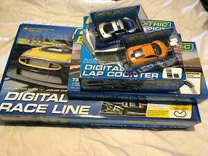 Scalextric Digital 1:32 Jaguar XKS Slot Car Set & Accessories