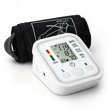 2016 New Fully Automatic Upper Arm Digital Blood Pressure monitor Pulse Monitor