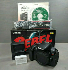 Canon EOS Rebel T4i / 650D 18.0MP Digital SLR DSLR Camera Body Nice Condition!