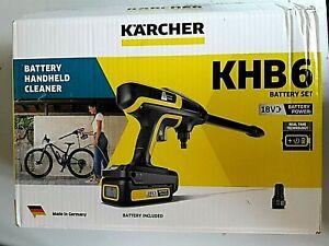 KÄRCHER Hochdruckreiniger »KHB 6 Battery Set«, 200 in l/h, Inkl. Akku und Ladeg
