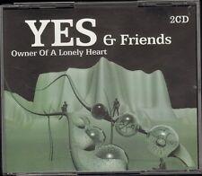 YES & Friends 2 CD 20 track Jon Anderson WHITE Rick Wakeman ASIA John Wetton