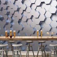 Geometric Wallpaper Murals Photo 3D Wall Sticker Living Room Decor