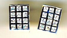 925 Sterling Silver Clear Cubic Zirconia Large Stud Rectangular Earrings  L 5/8""
