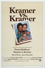 KRAMER VS. KRAMER - 1979 - original 27x41 movie poster- MERYL STREEP - Best Pic