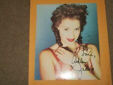 Ashley Judd-signed photo-18 - JSA COA