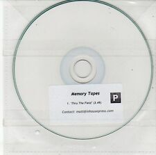 (DV319) Memory Tapes, Thru The Field - DJ CD