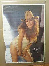 vintage Trish 1981 Hot girl man cave car Garage Poster 1186