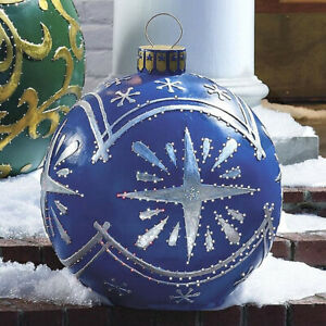 1PC Large Christmas Decorations Balls For Tree Outdoor Home Christmas Gift Ball