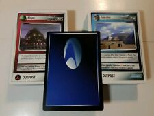 STAR TREK CCG 1E THE NEXT GENERATION COMPLETE COMMON SET 121 CARDS UNPLAYED
