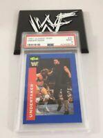 Undertaker 1991 Classic Wwf Card #30 Psa 9 Low Pop Rookie