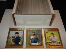 2004 Topps Traded Baseball Complete GOLD Set 1-220 #D/2004 Felix Hernandez