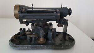 Vintage Cooke, Troughton & Simms Ltd Theodolite surveyors level in original case
