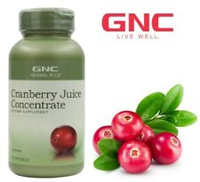 GNC Herbal Plus Cranberry Juice Concentrate Healthy Urinary Tract 90caps
