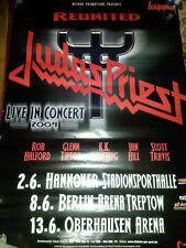 Judas Priest 2004 München RARE Konzert Plakat Concert Callejon Tour Poster 84cm