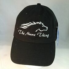 THE MANE THING-LOGO GOLF HAT-NEW WITH TAGS