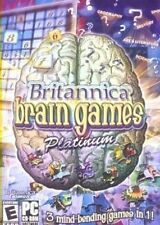 Britannica Brain Games 3 GAMES Sudoku Unlimited Puzzle Potpourri Quiz New in Box