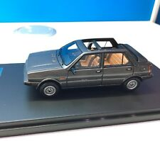 Lancia Delta Selene Semi-Convertible Dark Grey 1983 Premium-X PR0023 1:43
