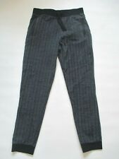 Girl's Youth Arizona Jean Co Gray Black Herring Bone Cotton Slim Leg Pants Xl
