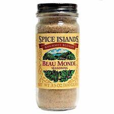 Spice Islands Beau Monde Seasoning 3.5 ounces/100grams, By ACH Food Companies