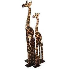 Giraffe aus Holz, Deko-Giraffe, Grösse: ca. 50 cm