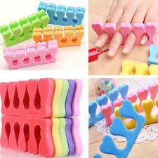 10PCS Nail Art Salon Manicure Pedicure Finger Soft Heart Finger Toe Separator JP