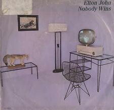 DISCO 45 Giri  Elton John - Nobody Wins / Fools In Fashion