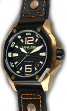 Lum-Tec Watch V6 Automatic Mens Black Leather Limited Edition AUTHORIZED DEALER