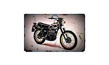 1979 xt500 Bike Motorcycle A4 Photo Poster