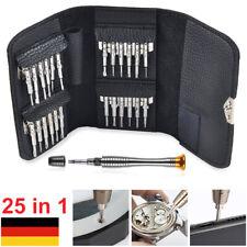 Feinmechaniker Werkzeug 25 tlg. Schraubendreher Uhrmacher Schraubenzieher Set