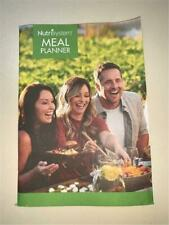 Nutrisystem Meal Planner Book Daily Tracker Plus Dining & Grocery Diet Guide