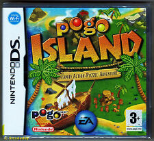 Nintendo DS Pogo Island ( 2007 ) UK Pal, Brand New & Nintendo Factory Sealed