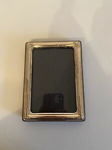 bilderrahmen 925 silber 11x15cm Fotogröße 8x12,5cm