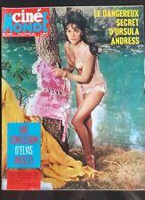 Cinémonde du 5/10/1965; Ursula Andress/ Elvis Presley; la confession/ N. Wood