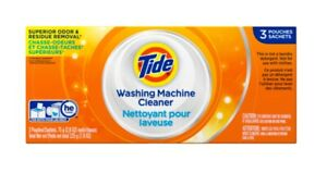 Tide Washing Machine Cleaner, 1 Box of 3 Count Packs