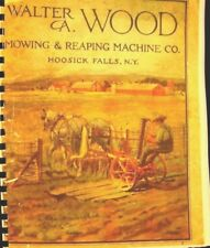 1915 Walter A.Wood Machines & Outils Annuual Ventes Livre
