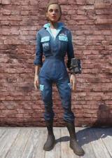 Fallout 76 - PS4/5 - 🌟 Apparel 🌟 - White Powder Jumpsuit 🔥🔥🔥