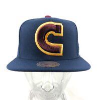 Cleveland Cavaliers NBA Mitchell & Ness Adjustable Snapback Hat Cap Basketball
