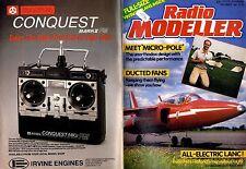 RADIO MODELLER MAGAZINE 1987 DEC GORDON COUNSELL'S HUMMING BIRD FREE PLANS
