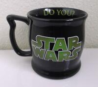 Disney Star Wars Yoda Mouse Ears Coffee Mug Judge Me By My Size Do You?