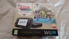 Nintendo Wii U Legend of Zelda 32GB Black Handheld System Console Brand New