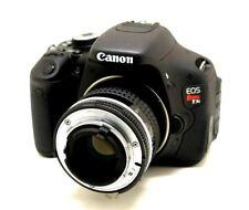 52mm Lens Reverse Mount Macro Adapter to Canon 6D 7D 650D 77D 80D T6 T6i T7i SL2